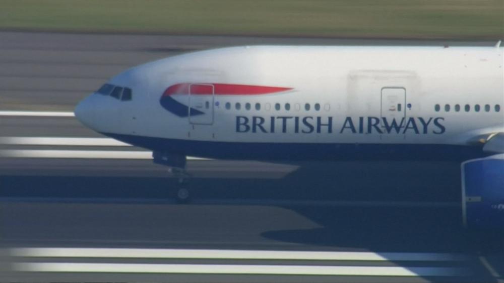 英國航空面對中國施壓,僅剩3天期限可處理。圖片提供:民視新聞