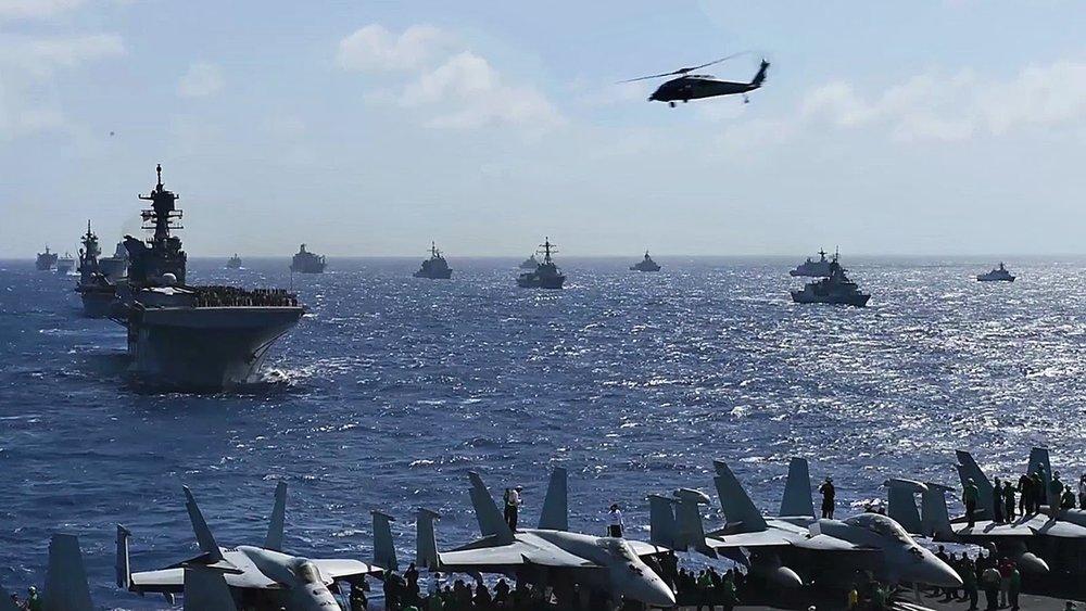 台灣有機會受邀參加美國主導的環太平洋軍演。圖片來源:AiirSource/YouTube
