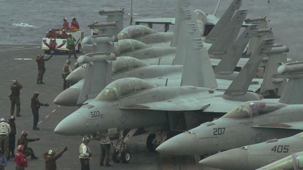 美國拒讓中國參加環太平洋軍演原因,包括中方迅速在南海集結軍事武力。圖片來源:中國環球電視網
