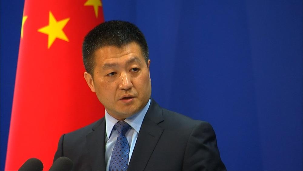 中國外交部否認對美使館發動聲波攻擊。圖片提供:民視新聞