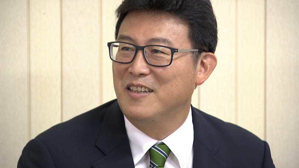 姚文智確定代表民進黨參選台北市長。圖片提供:民視新聞