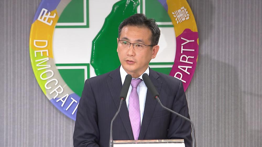 民進黨發言人鄭運鵬表示,姚文智因為基層經營紮實而獲選對會提名。圖片提供:民視新聞
