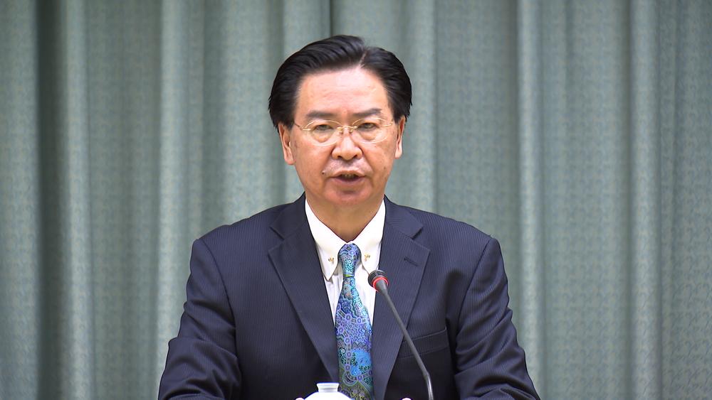 外交部長吳釗燮表示,未來將不再對中國忍讓。圖片提供:民視新聞