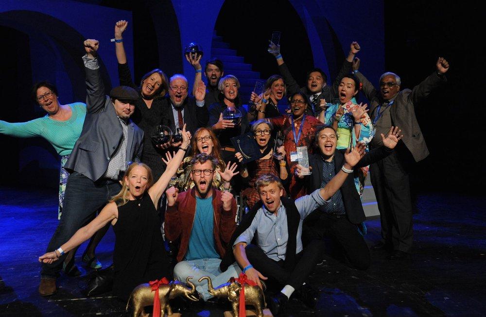 台灣公廣集團參加「慕尼黑國際兒少影展」。圖片來源:Prix Jeunesse International