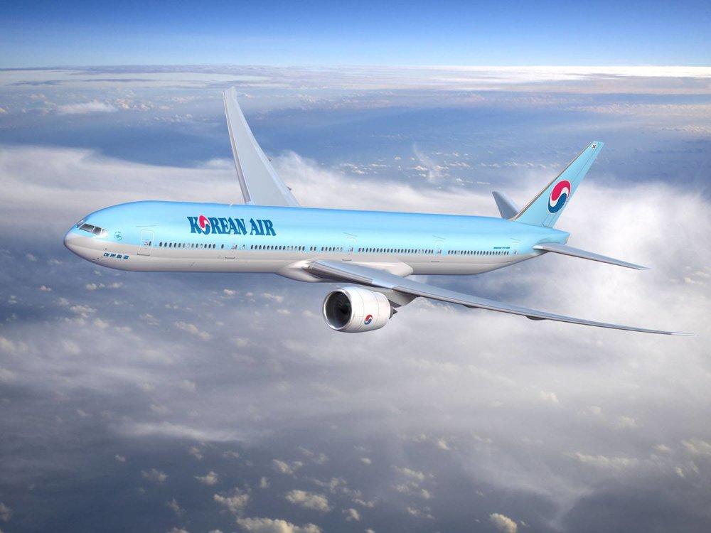 大韓航空堅持不把台灣改成中國台灣,還把台灣納入「東南亞-印度」區域。圖片來源:Korean Air