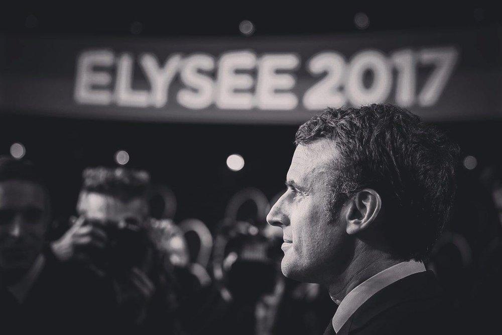 法國總統馬克宏2017年擊退傳統左右政黨,以第三勢力當選總統。圖片來源:Emmanuel Macron/Facebook
