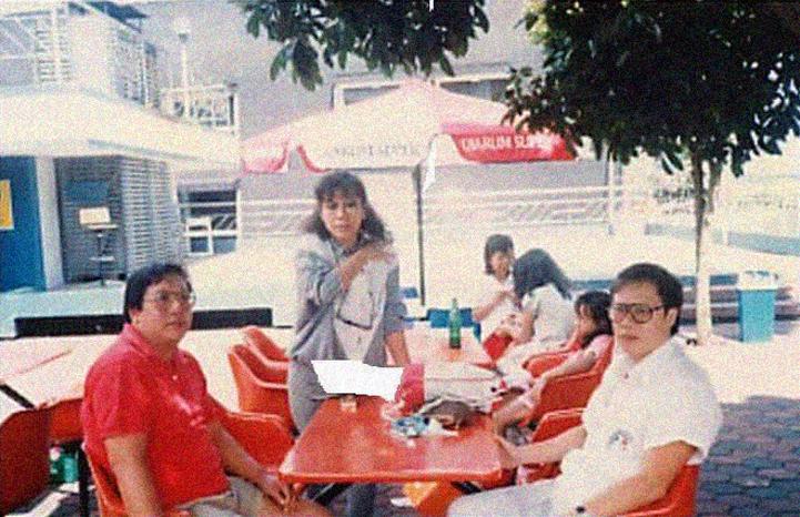 陳智雄當時遺留3名年幼的家屬,左1為長子陳威惠(Tan Ui-Hui),1947年生;左2是長女陳雅芳(Tan Geh-Hong),1949年生(2017年8月過世);右1為次子陳東南(Tan Ton-Nam),1950年生(2013年4月過世)。圖片提供:Vonny Chen