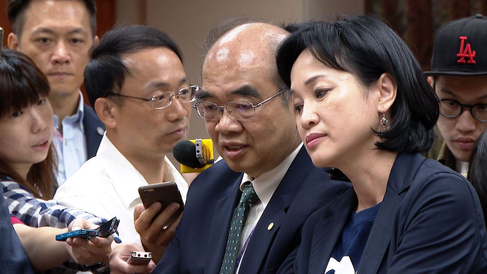 教育部長吳茂昆辭職下台。圖片提供:民視新聞