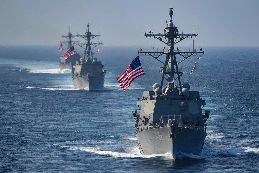 美國將加強與印度的軍事關係。圖片來源:U.S. Pacific Command