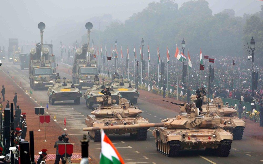 印度武裝部隊是世界第4大武裝力量。圖片來源:Ministry of Defence, Government of India
