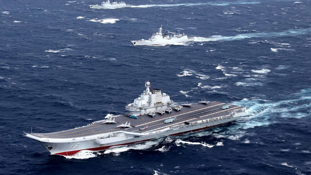 中國對台恫嚇力道增強。圖片來源:中國環球電視網