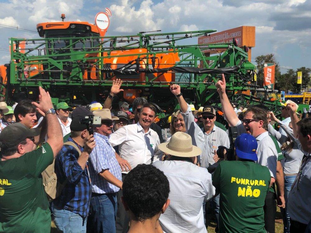 波索納洛有「巴西版川普」稱號。圖片來源:Jair Bolsonaro/Twitter