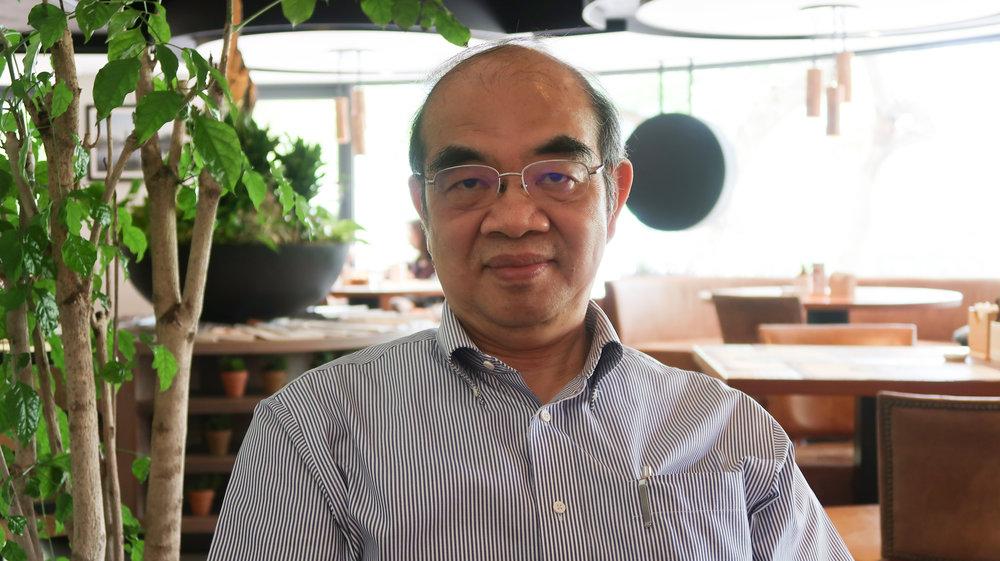 吳茂昆辭教長後,首度接受媒體專訪。攝:周子愉/讀報