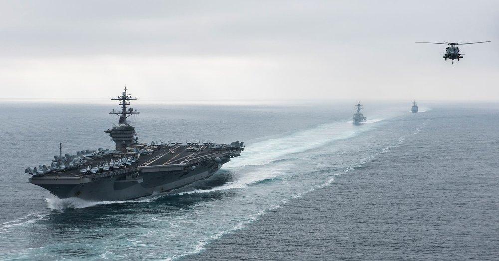 美國不排除派軍艦穿越台灣海峽。圖片提供:U.S. Pacific Command