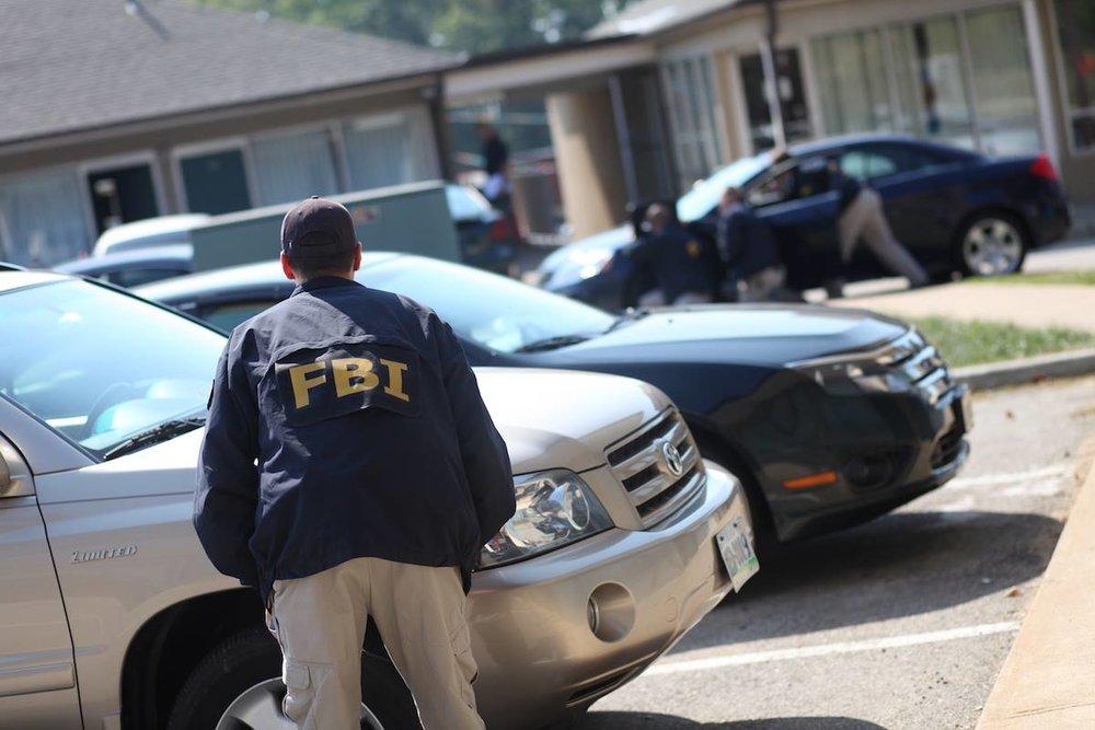 FBI收網逮捕中國潛伏美國國防情報局的間諜。圖片來源:FBI