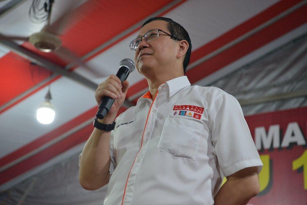 馬國財政部長林冠英指控,前政府付給中國承包油氣管道涉嫌貪腐。圖片來源:Lim Guan Eng/Facebook