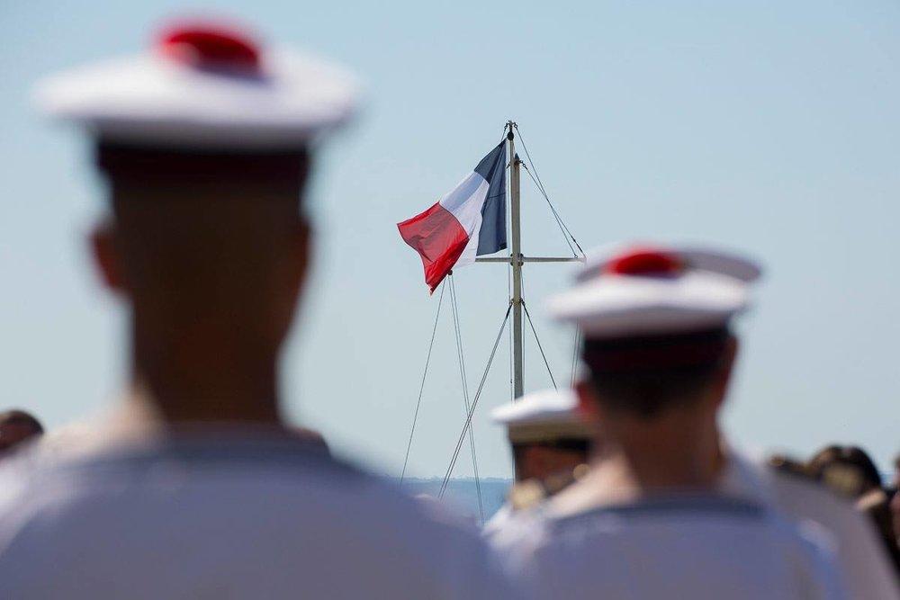 法國也將派軍艦赴南海,與美軍一同執行自由航行權行動。圖片來源:Ministère des Armées