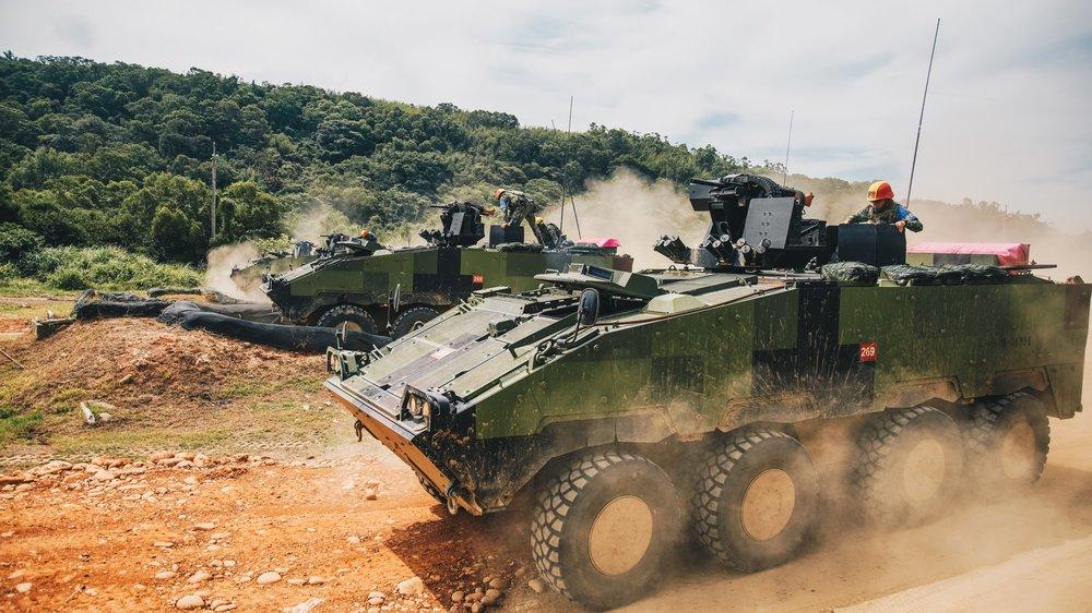漢光34號於6月4日開始至6月8日,舉行實兵實彈演習。圖片來源:中華民國國防部
