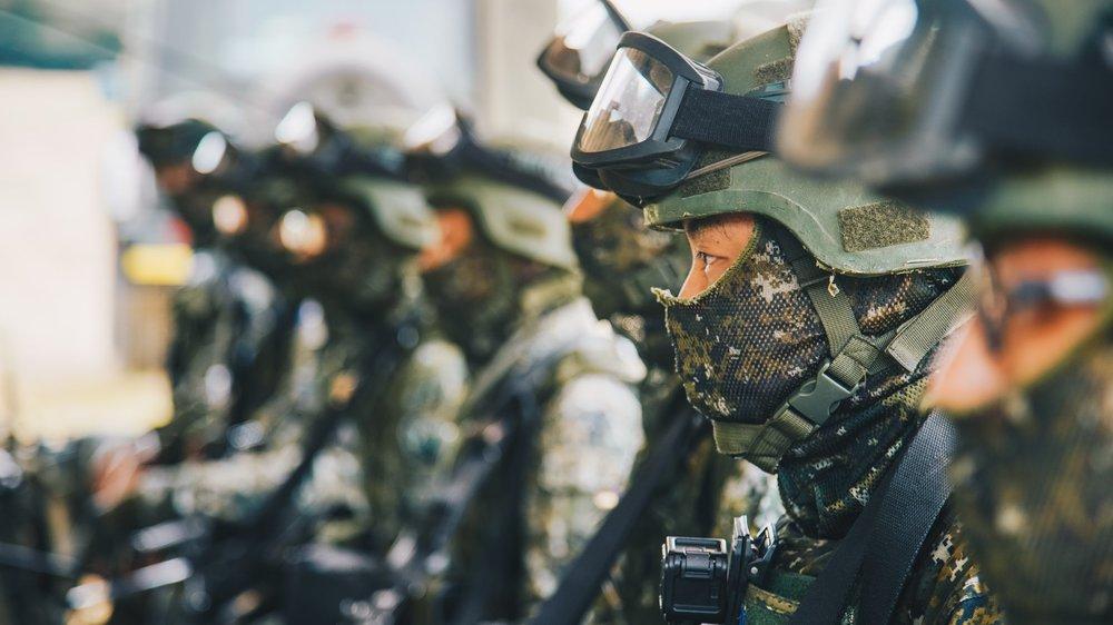 美國參議院建議美軍加入台灣的漢光演習。圖片來源:中華民國國防部