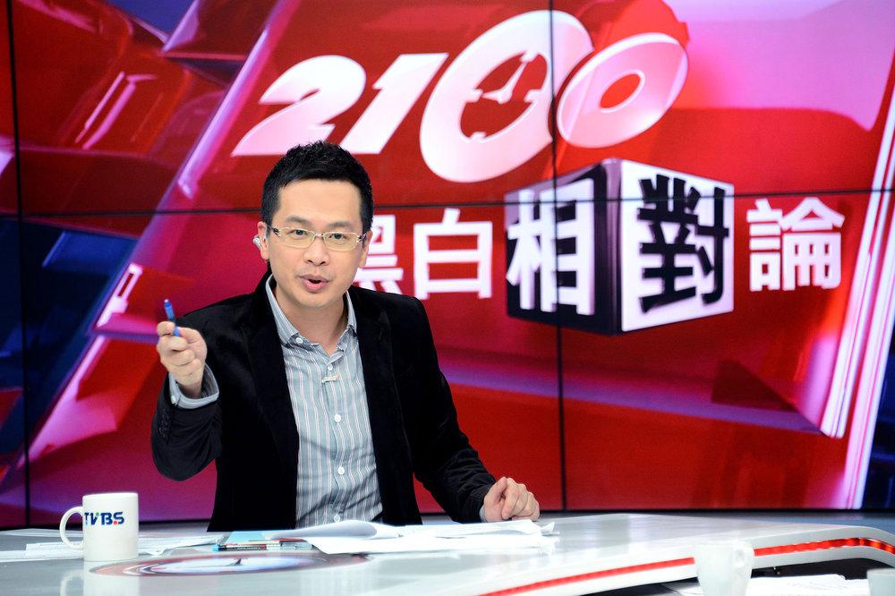 前總統府副秘書長羅智強反對「禁止五星旗」。圖片來源:TVBS新聞台
