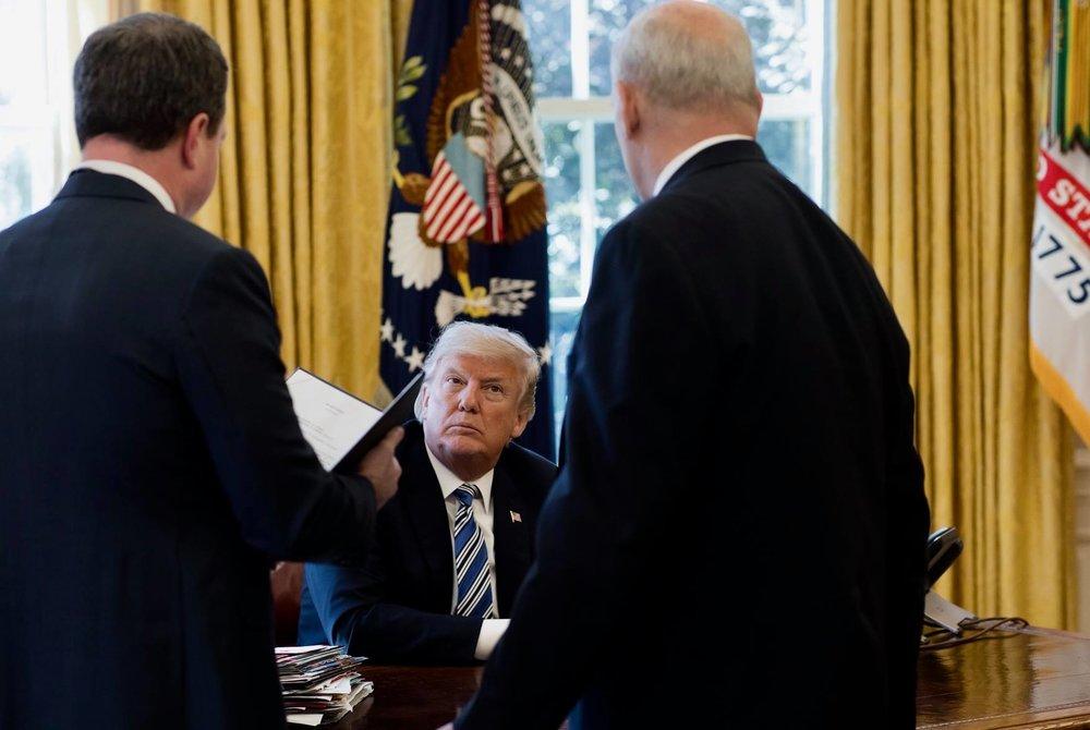 川普堅持「美國優先」為原則,與其他五大工業國意見相左。圖片來源:Donald J. Trump/Facebook