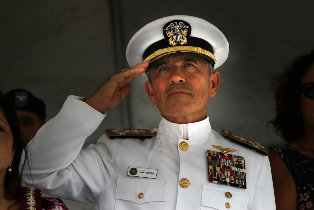 號稱「中共最怕的美軍上將」令哈利·哈里斯將任美國駐澳大使。圖片來源:美國海軍陸戰隊
