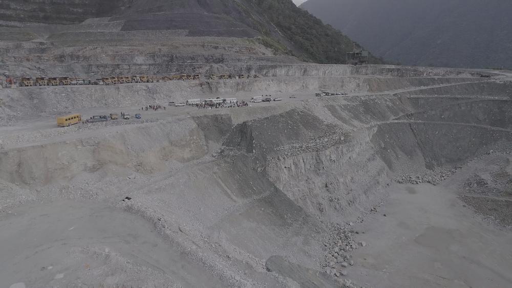 齊柏林《看見台灣》拍出台灣山林遭破壞的風貌。圖片提供:民視新聞