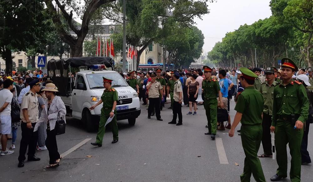 越南民眾因中國將在境內設置經濟特區,包發示威浪潮。圖片來源:Reuters