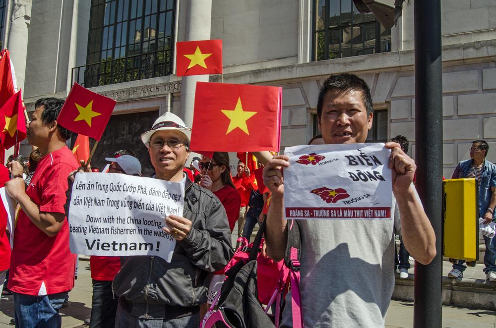 越南2014年就曾發生排華暴動。攝:BasPhoto/Shutterstock
