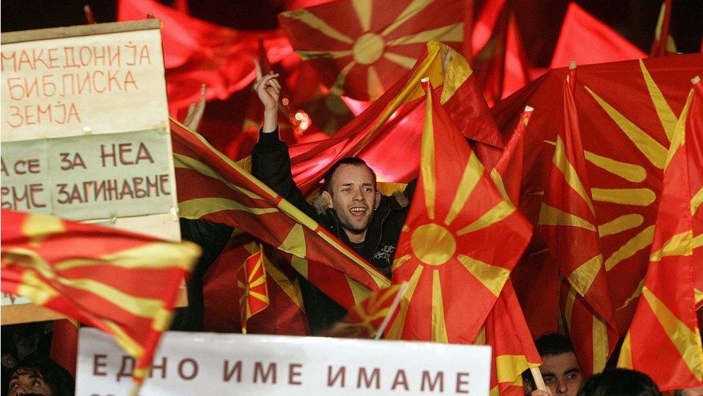 馬其頓將改國名「北馬其頓」。圖片來源:中國環球電視網