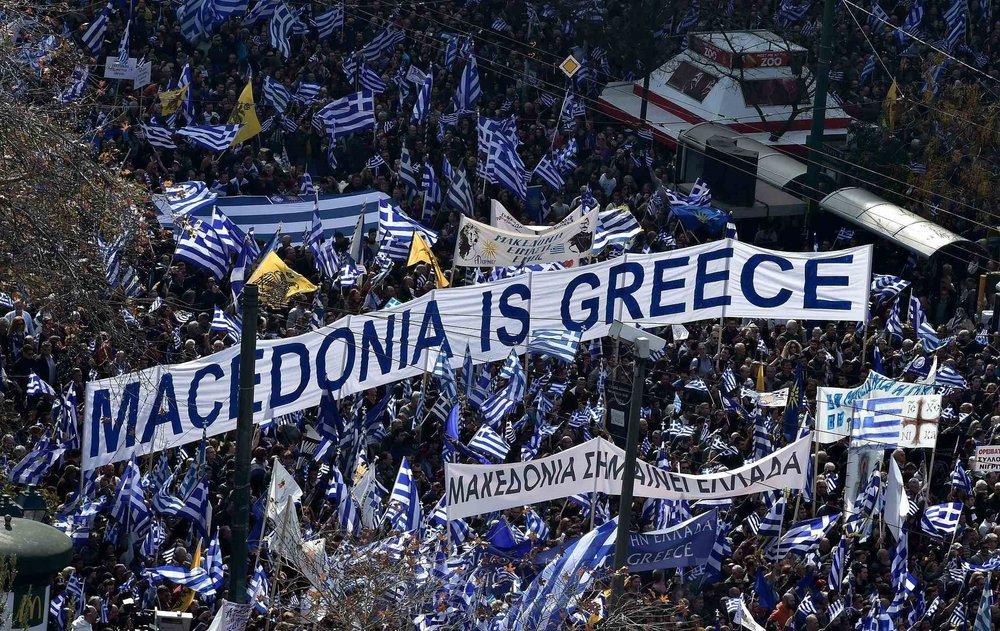 希臘人認為自己境內的馬其頓省才是正統。圖片來源:視覺中國