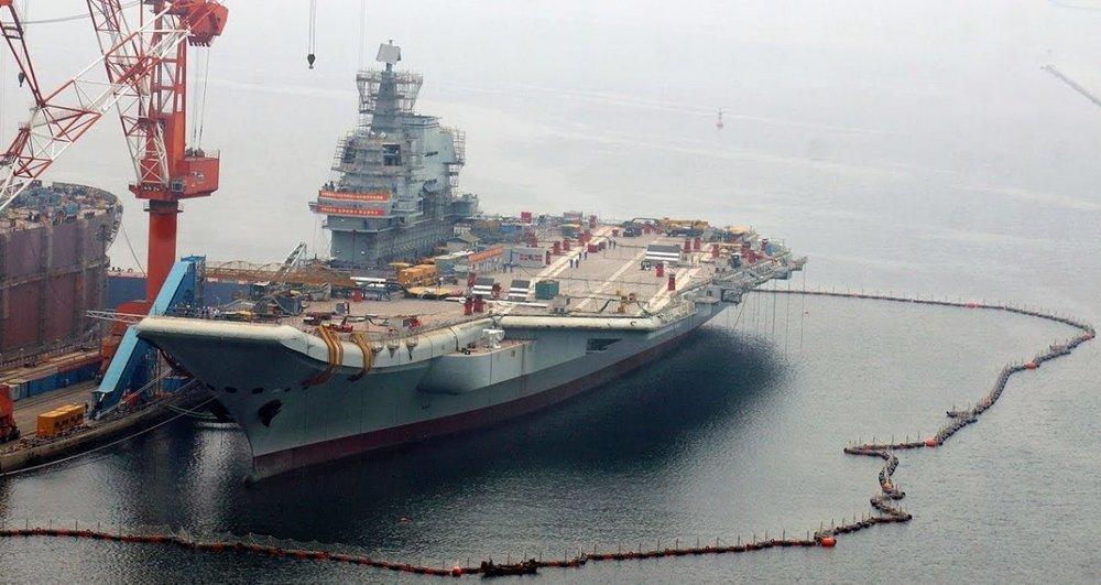 中國仿造遼寧號打造的001A航母,也出現貪腐問題。圖片來源:中國環球電視網