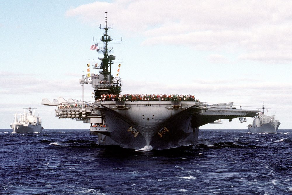 美國參議院建議國防部,應該派兵參加台灣漢光演習。圖片來源:U.S. Pacific Fleet