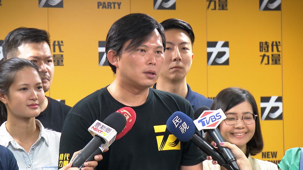 時代力量5名立委力挺2019台灣獨立公投。圖片提供:民視新聞