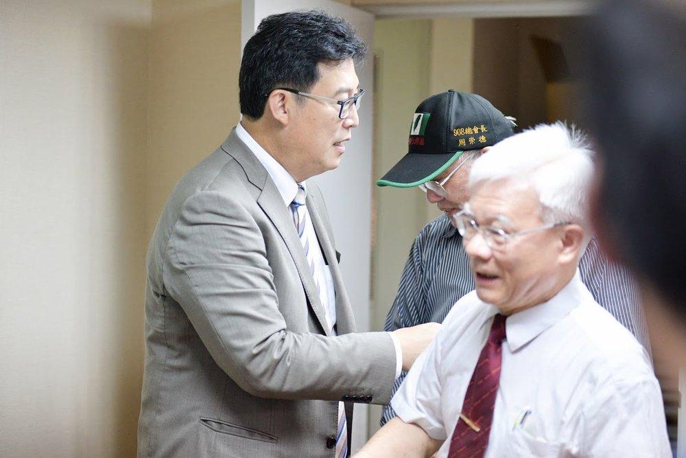 姚文智是民進黨提名的台北市長參選人。攝:Bulam Yang/台灣北社