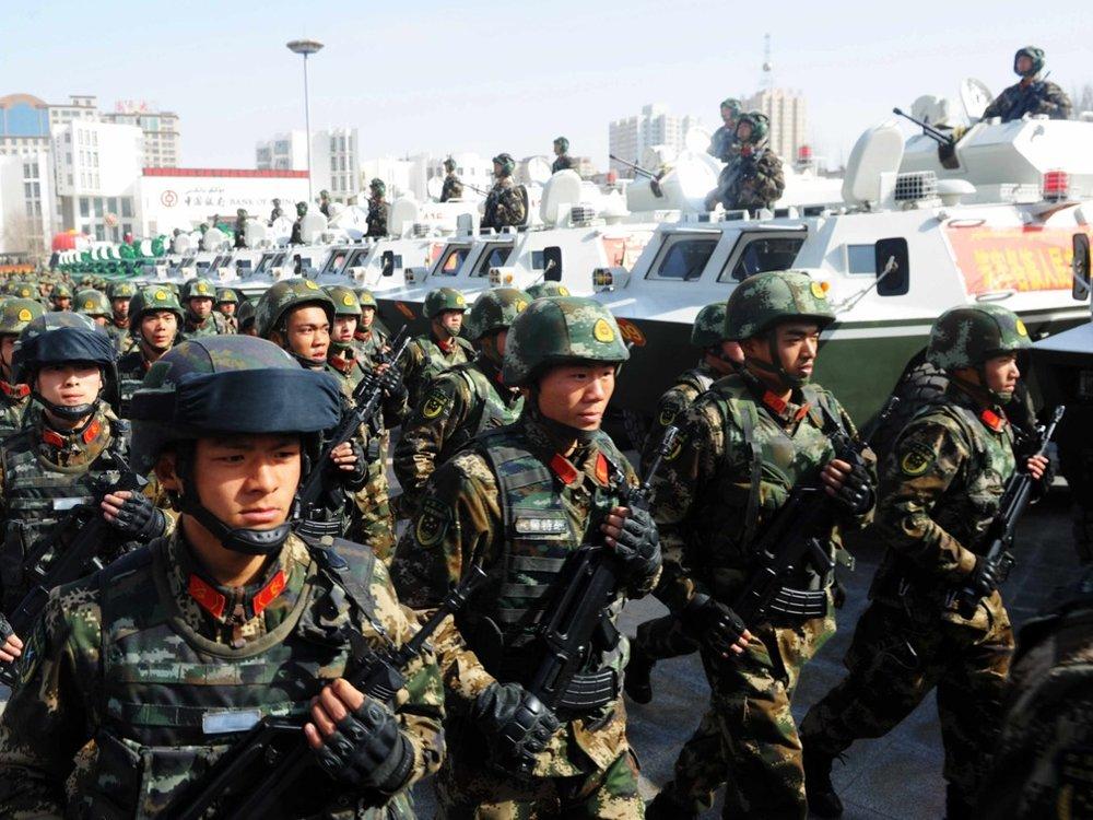 中國政府近年打壓新疆愈趨嚴重。圖片來源:視覺中國
