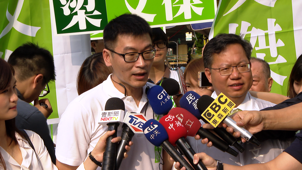 民進黨台北市議員梁文傑痛批柯文哲「每天都在用陰謀看事情」。圖片提供:民視新聞