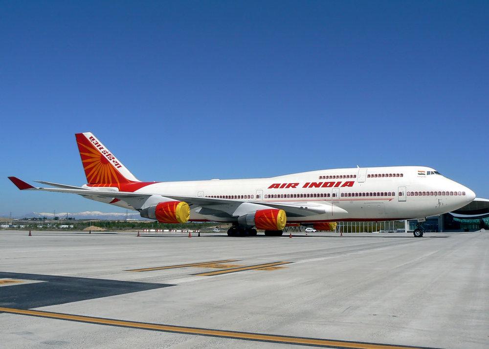 印度航空堅持將台灣列為國家。圖片來源:維基共享資源