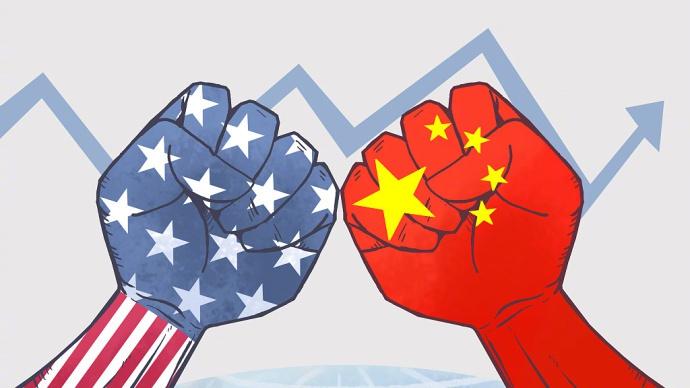 中國將美國農產品扣留在海關。圖片來源:中國環球電視網