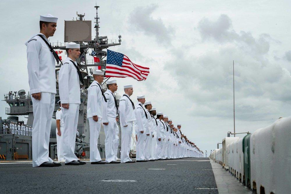 美國考慮派航母穿越台灣海峽。圖片來源:U.S. Indo-Pacific Command