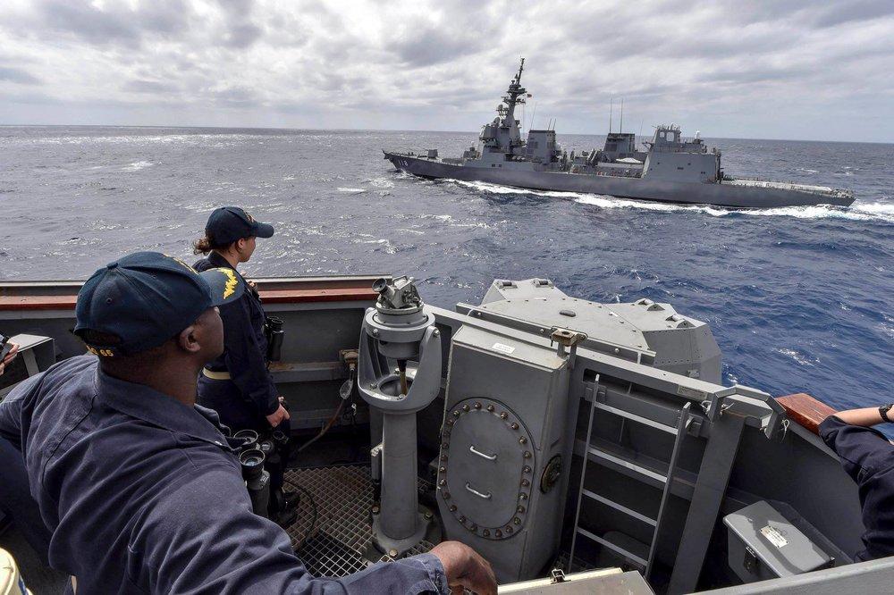 美國不希望中國稱霸。圖片來源:U.S. Navy