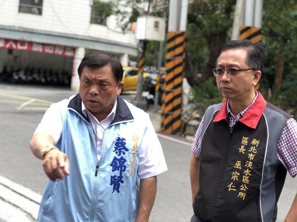 國民黨新北市議員蔡錦賢遭判刑,卻潛逃中國回台還能再參選。圖片來源:蔡錦賢/Facebook
