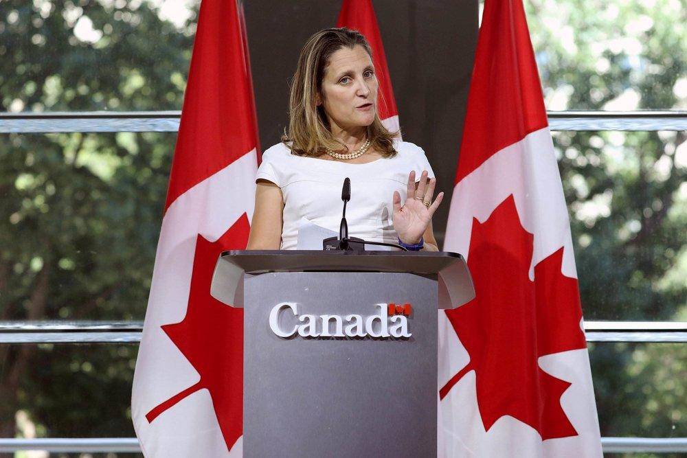 加拿大宣布與美國簽署貿易協定。圖片來源:視覺中國