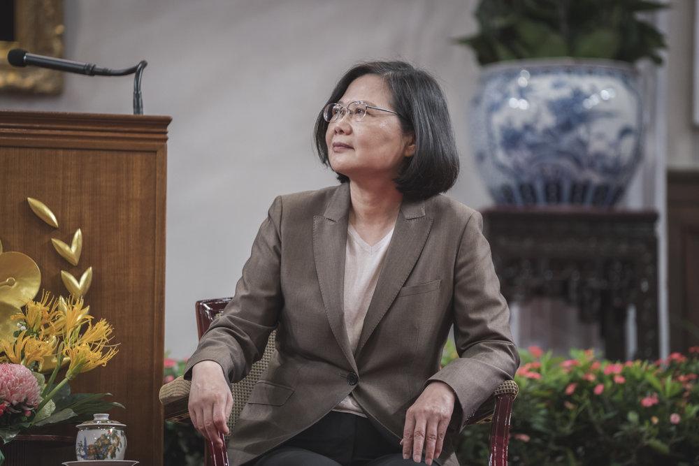 蔡政府當前面對中國頒布的港澳台居住證「束手無策」。圖片來源:中華民國總統府/Flickr