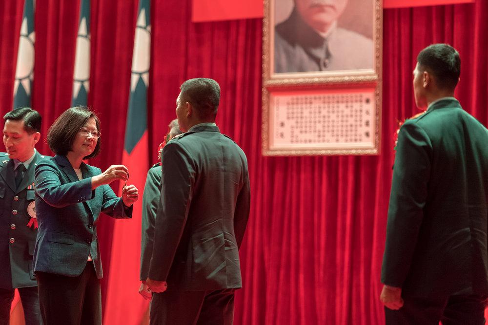 總統蔡英文認為應引進「憲法訴願」制度,將台灣綁死在中華民國體制內。圖片來源:中華民國總統府/Flickr