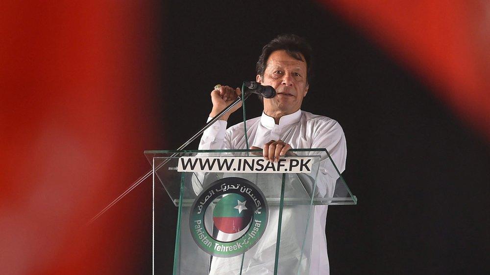 巴基斯坦新總統對一帶一路持存疑態度。圖片來源:中國環球電視網