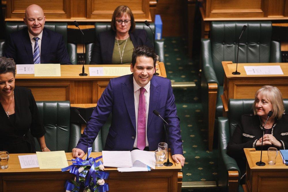紐西蘭國家黨黨魁布里奇斯(Simon Bridges)遭爆收受華裔富商約203萬台幣醜聞。圖片來源:Simon Bridges/Facebook