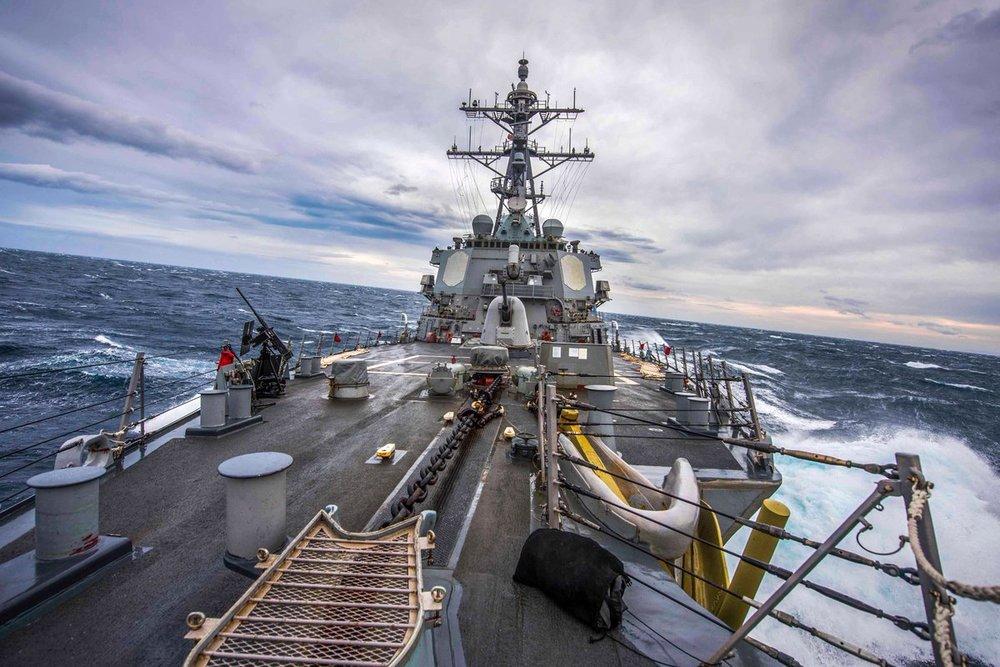 美艦傳出11月將航行台灣海峽。圖片來源:U.S. Navy