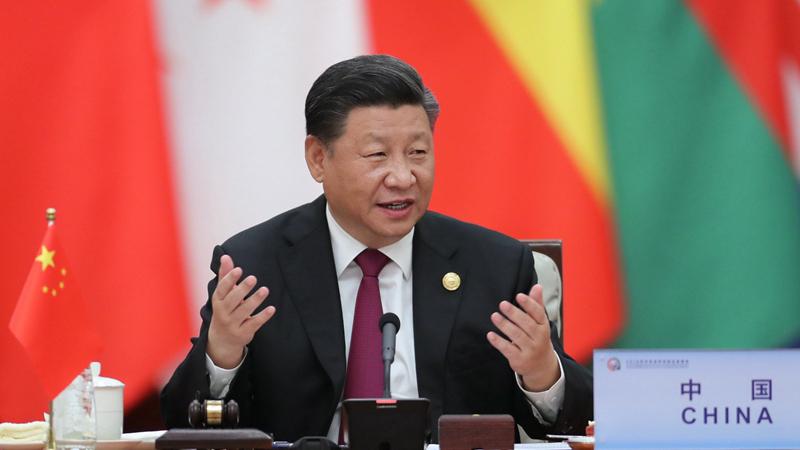 中國加大力道,企圖讓國際孤立台灣。圖片來源:中國環球電視網