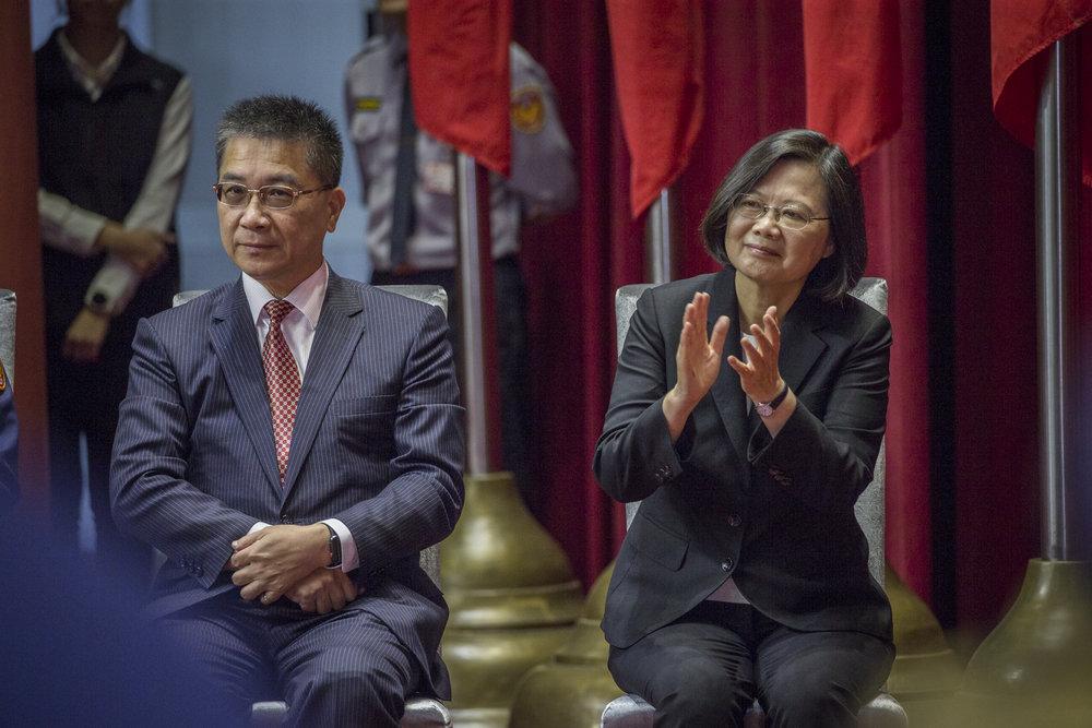蔡英文恐成民進黨票房毒藥。圖片來源:中華民國總統府/Flickr